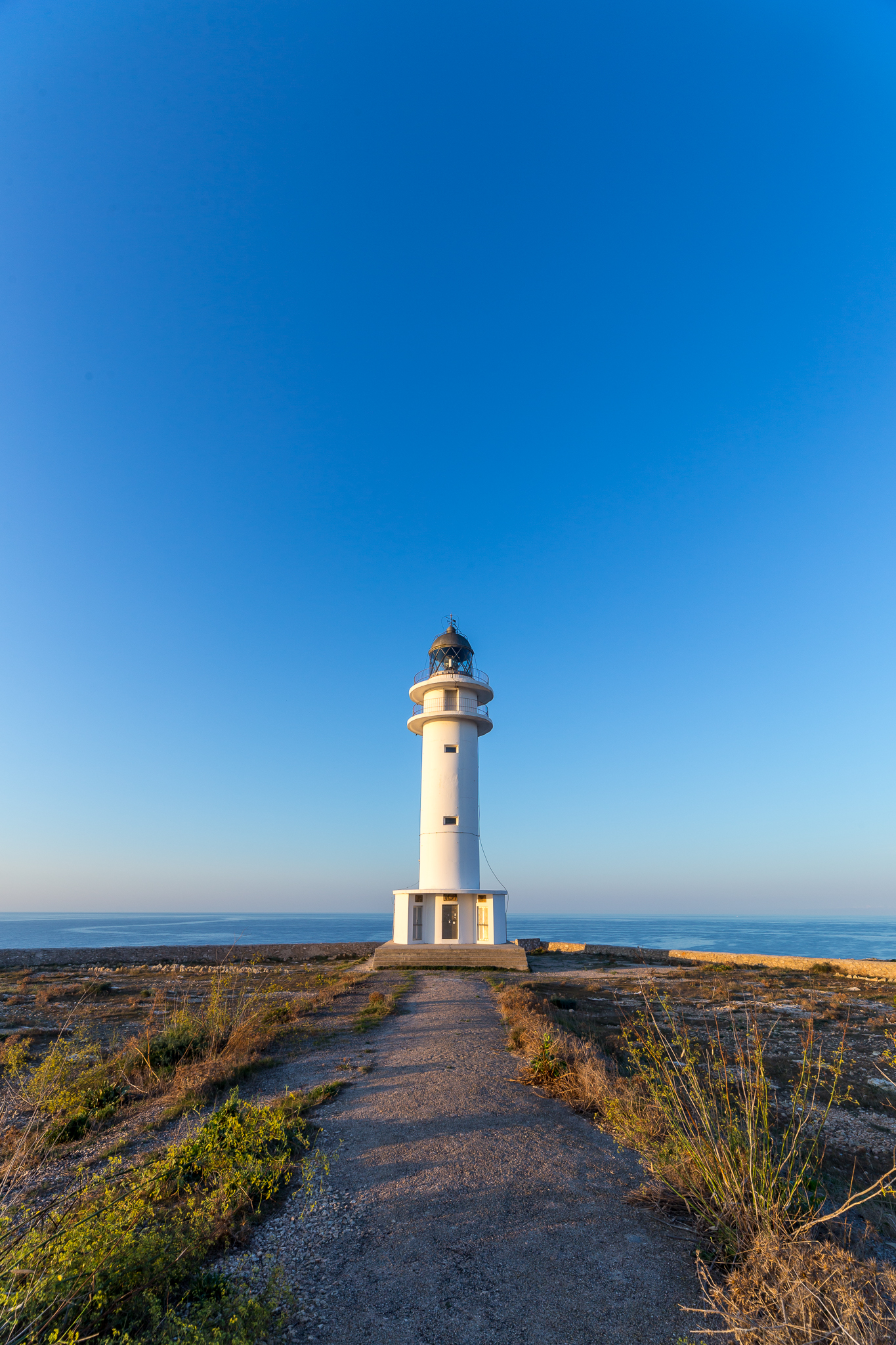 Cap Barbaria Lighthouse, Formentera